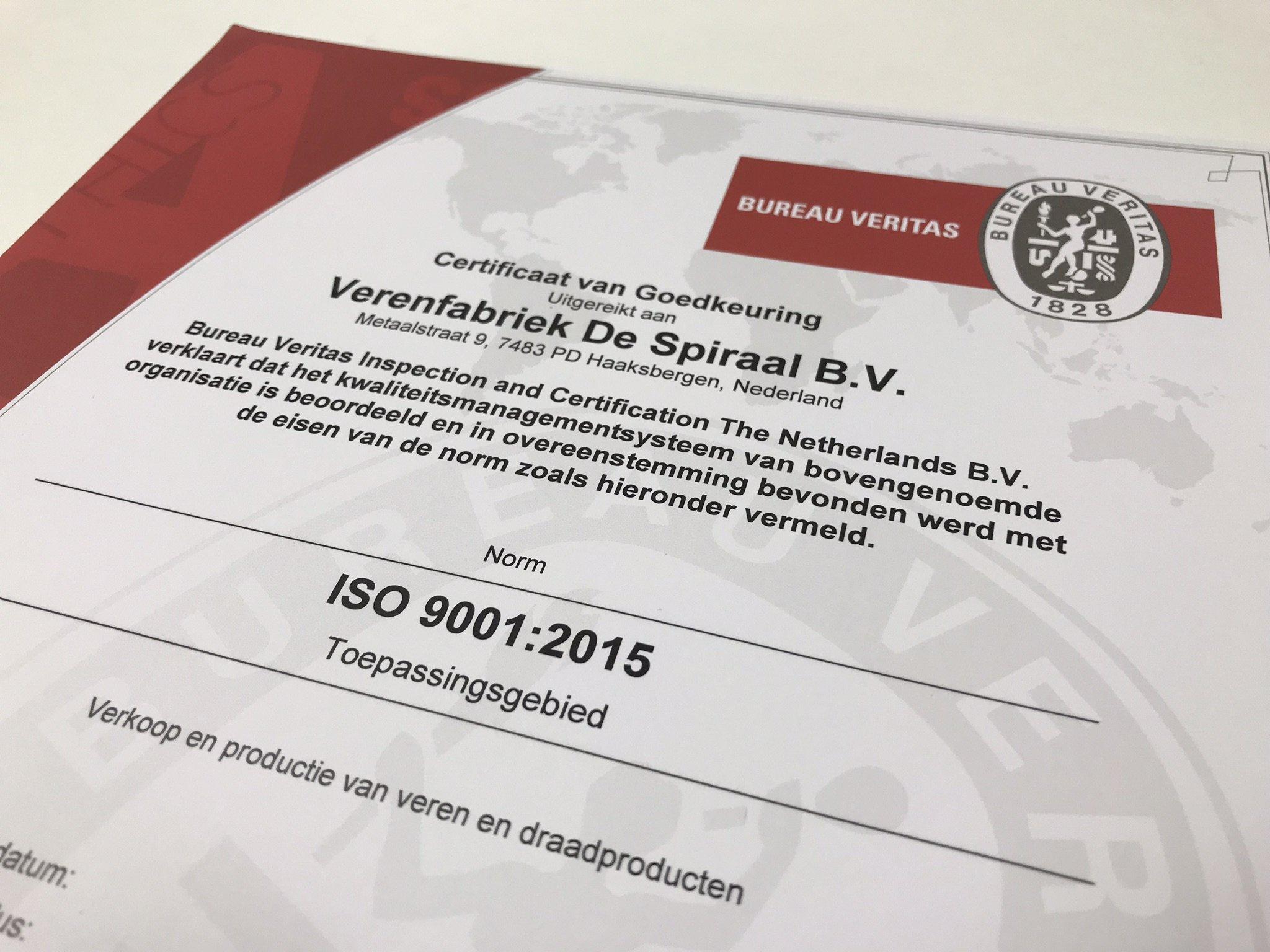 Verenfabriek_de_Spiraal_ISO_9001_certificaat